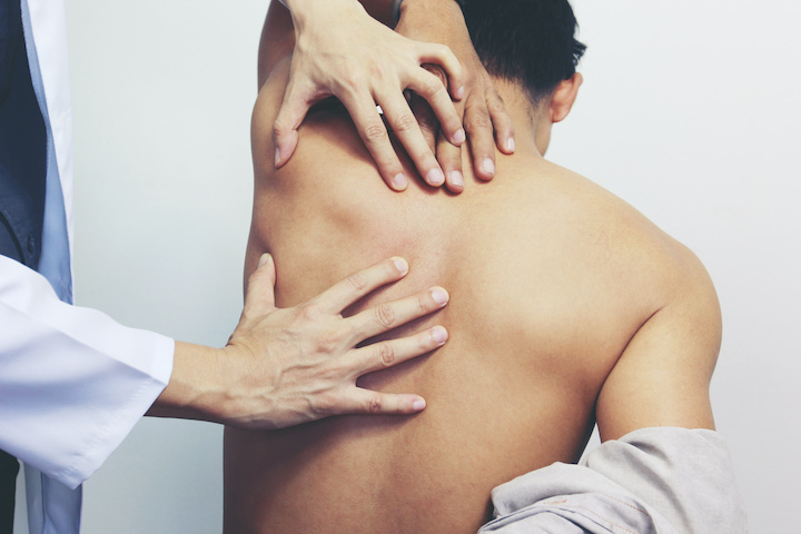 """When muscles around the spine and back do not relax properly, knots or """"trigger points"""" can form under the skin, irritating the nerves and causing pain. A small needle is used to inject medication into the muscle to relax tissue and alleviate accompanying nerve pain. In best cases, pain resolves after one injection."""